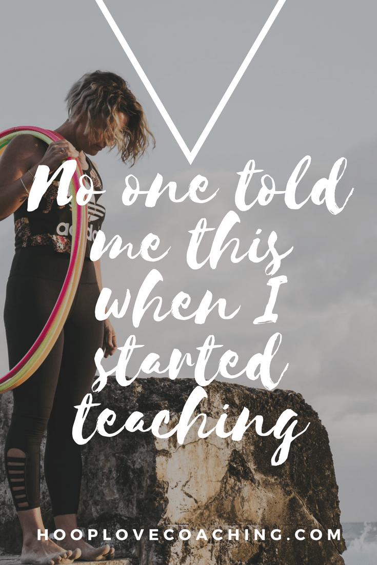 hooping teacher