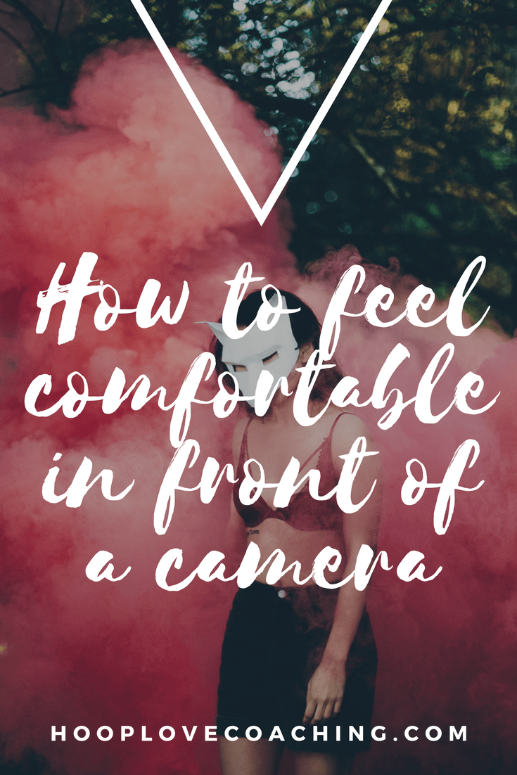 How to feel confident in front of camera