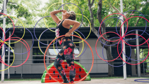 Deanne Love shares how to make fitness hula hoop classes