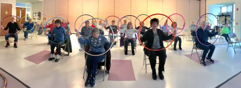 Senior Chair Hooping Event