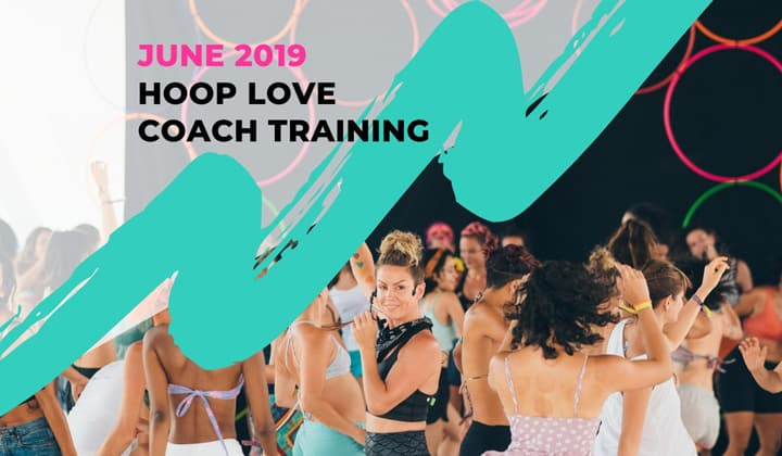 Hoop Love Coach training Hula Hoop Teacher training
